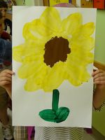 Cropped, resized inspiration 5, Melina's Sunflower