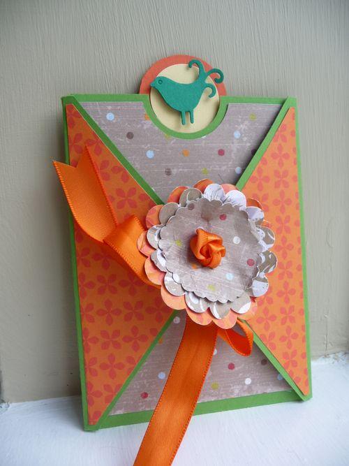 Britt gift card holder
