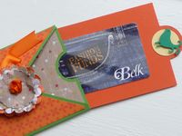 Britt gift card holder open