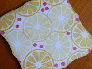 Lemon cake label back cl