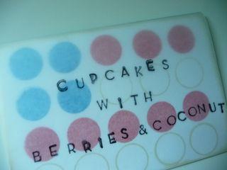 Cupcake label cl