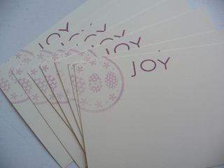 Fruit, joy cards