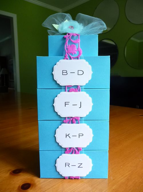 Placecards boxed