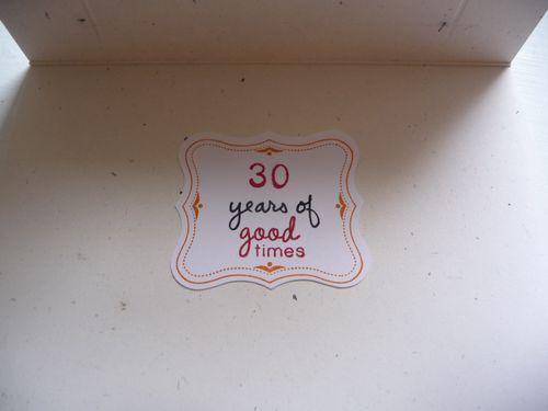 30th inside