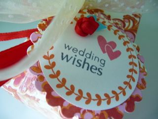 Wedding wishes tag cr-1