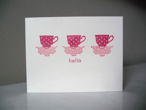 Teacup hello