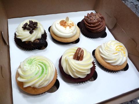 Cupcakes from Sue Berker