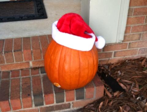 Santa Pumpkin Ellis