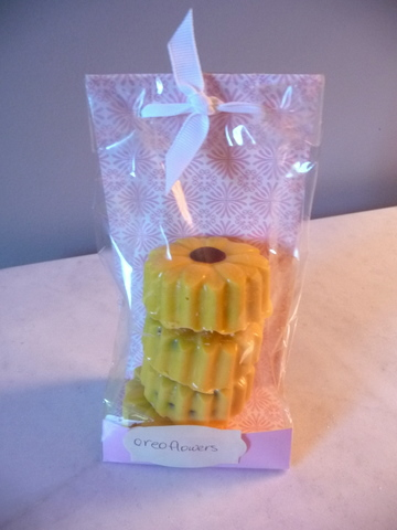 Sunflower oreos from marguerite