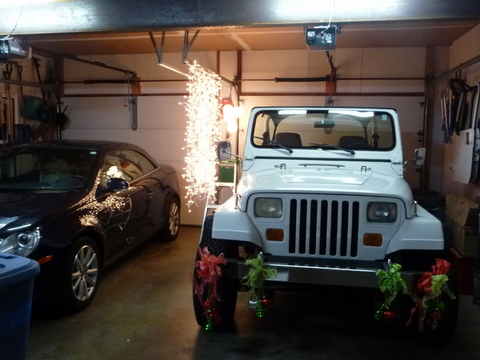 christmas light test - Jeep Christmas Decorations