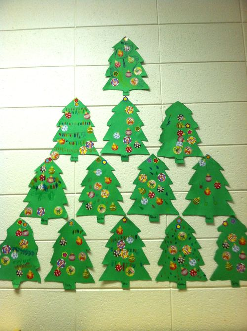 Preschool 4C trees
