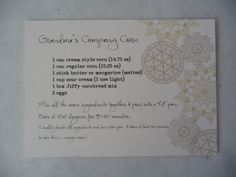 Dec 11 recipe card