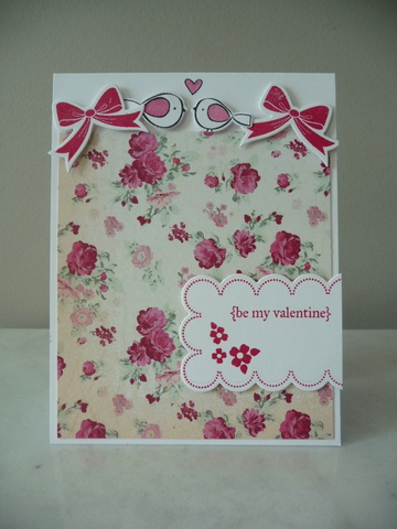 Be my valentine floral